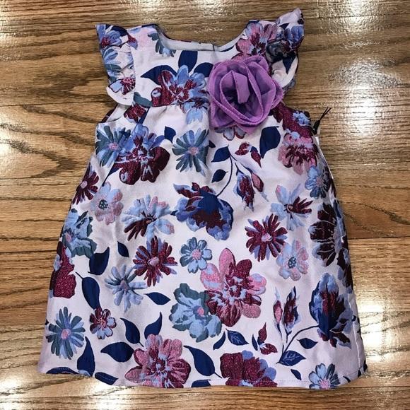 Pippa /& Julie Toddler Dress Maroon//Burgundy